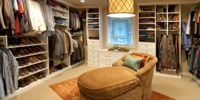 How to design a beautiful and neat 2016 walk-in closet in your bedroom!
