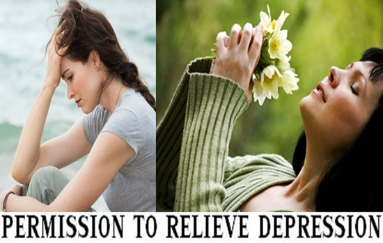 Photo of GIVE YOURSELF PERMISSION TO RELIEVE YOUR DEPRESSION