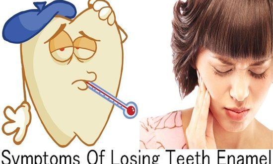 Symptoms Of Losing Teeth Enamel