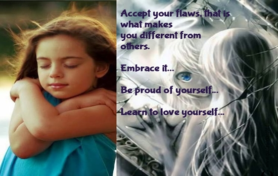 TIPS TO HELP YOU EMBRACE YOUR FLAWS