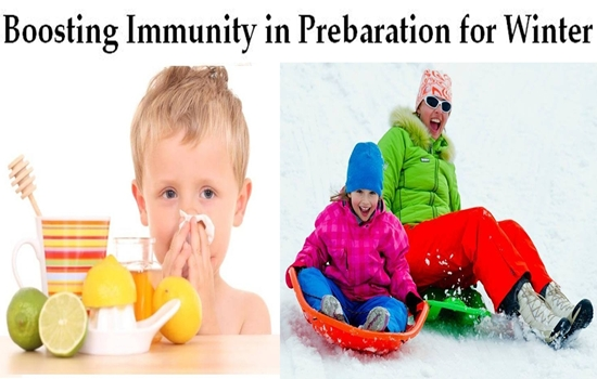 Tips for Boosting Immunity in Preparation for Winter