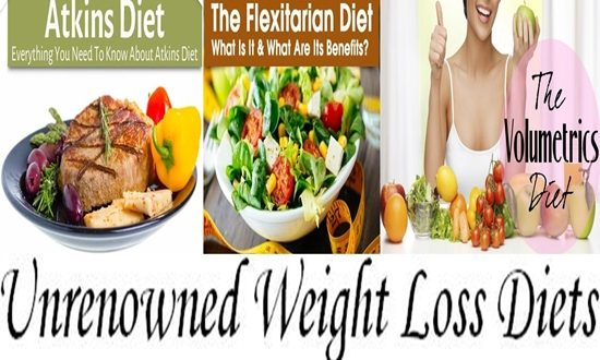 Unrenowned Weight Loss Diets and Why They Are So Effective
