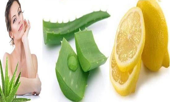 Beauty Enhancing Aloe Vera And Lemon Mask