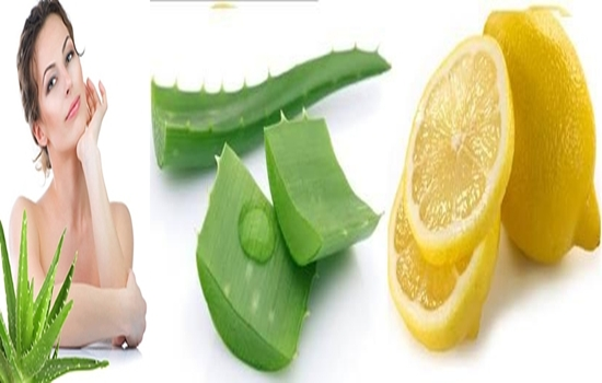 Beauty Enhancing Aloe Vera And Lemon Mask