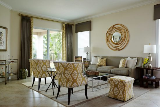 modern furniture with an interior living room design by 2016