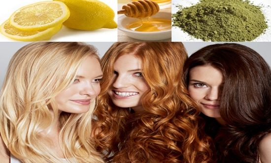 Natural dyes for your hair