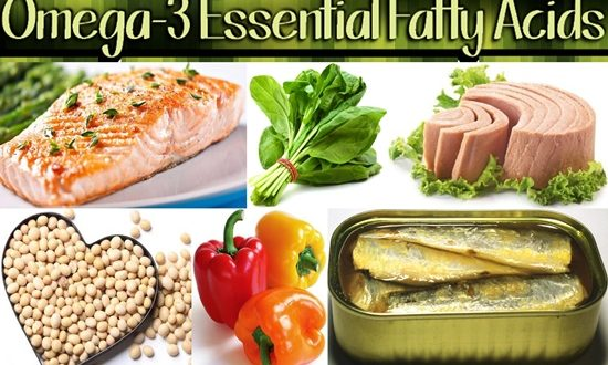 Sources of Omega-3 Fatty Acids