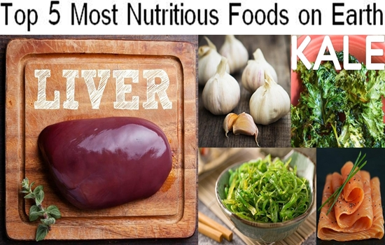 Top 5 Most Nutritious Foods on Earth