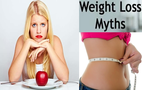 Weight Loss Common Myths You Shouldn't Believe
