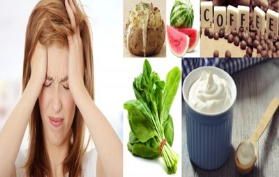 Foods that can relieve headache naturally