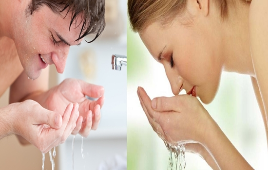 guidelines for washing your face