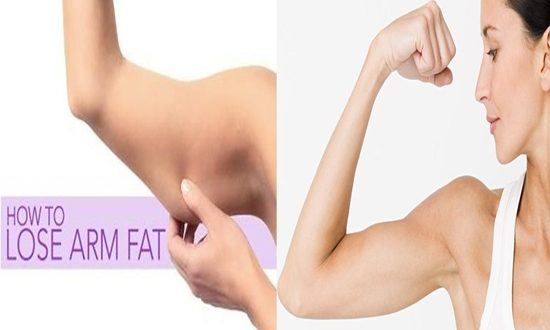 how to lose arm fat quickly