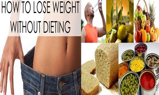 lose weight without a diet
