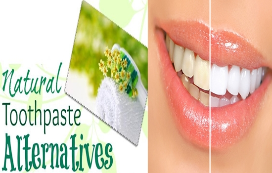 natural alternatives for toothpaste
