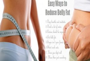 6 Great ways for reducing belly fat easily