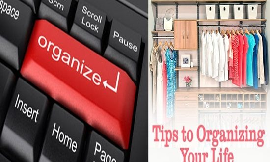 tips for organizing your life