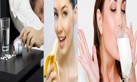 Alternative healthy foods for sleeping pills