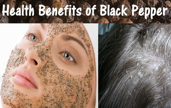 Amazing beauty uses from black pepper for your hair and skin