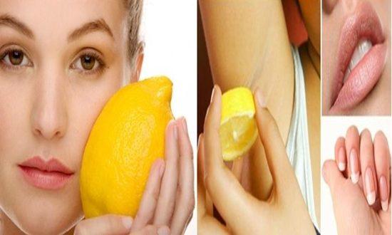 Beauty Enhancing Uses Of Lemon Juice