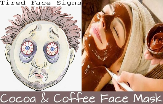 DIY Face Mask To Get Rid Of Tired Face Signs