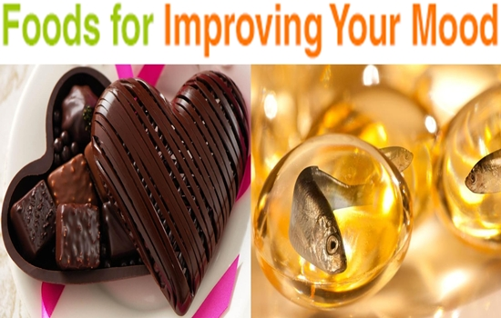 Foods for improving the mood