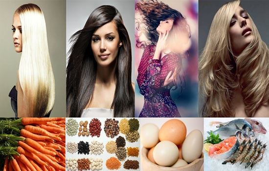 Foods useful for nourishing your hair