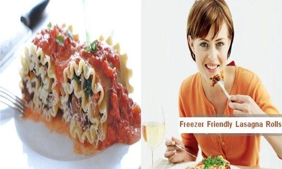 Freezer Friendly Lasagna Rolls