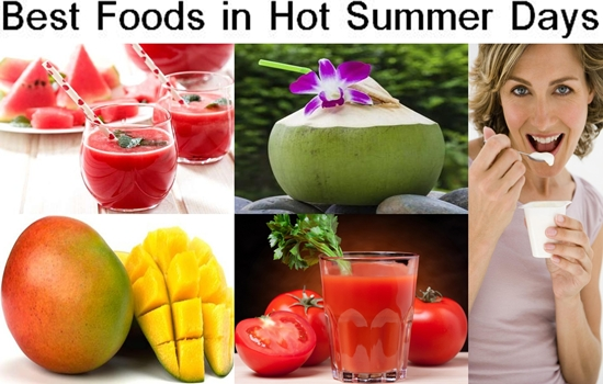Photo of The Best Foods To Eat in The Hot Summer Days