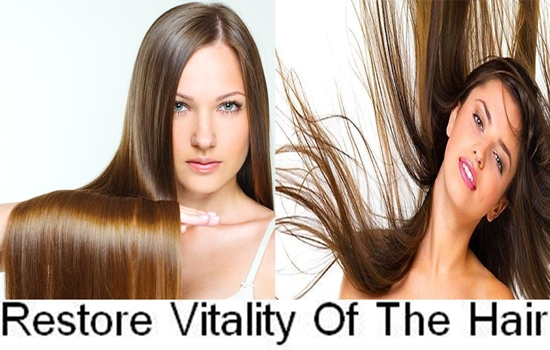 Ways to restore vitality of the hair