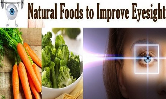 foods to improve your sight