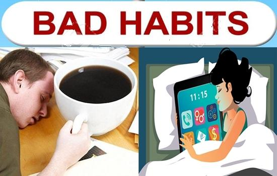 habits make you feel tired