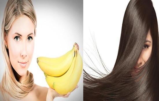 mixtures of banana to soften your hair