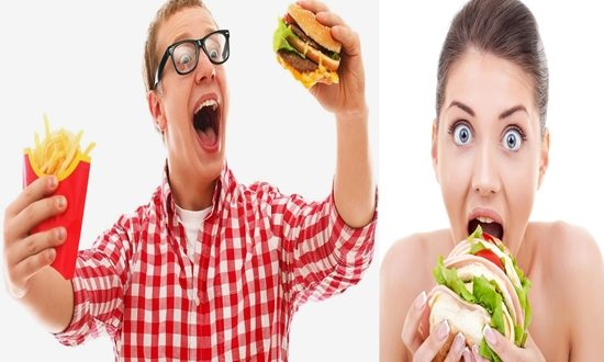 reducing the craving for fast foods