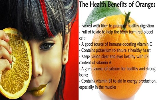 Health Benefits of Orange