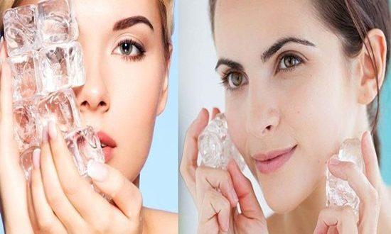 Ice Treatment For Beautiful Skin
