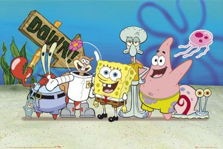Of All Cartoon Characters People Love These Are the 6 They Love Most SpongbobSquarepants1