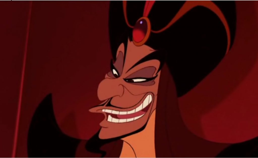 List Of The Most Evil Disney Villains Of All Jafar, Alladin1