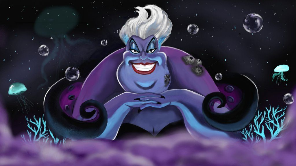 List Of The Most Evil Disney Villains Of All Ursula. The Little Mermaid1