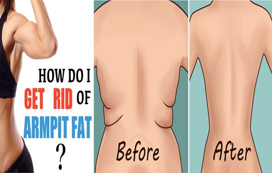 Get Rid Of Back Fat and Underarms Flabs With These Exercises