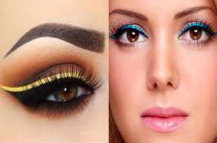 Professionally Wear Colored Eyeliner Tips