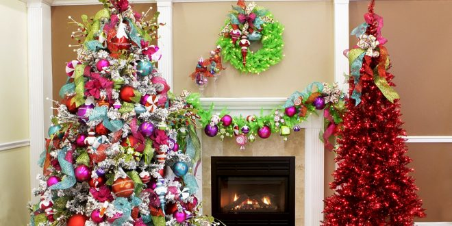 Gorgeous trendy color schemes for this year Christmas sparkle holiday
